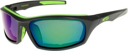 Okulary GOGGLE KOVER P matt grey/green